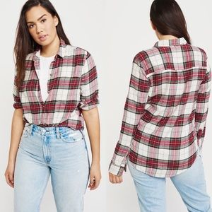 NWT Abercrombie & Fitch Flannel Shirt